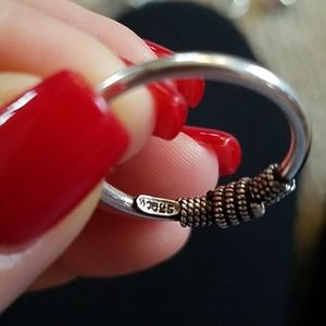 Vintage rope ring size 9